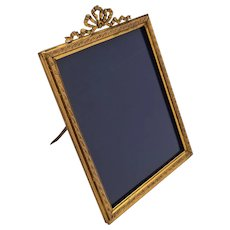 Edwardian Large Brass Photo Frame, Circa 1905