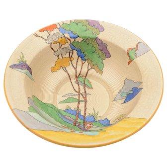 Art Deco Cydonia China Bowl, Circa 1930