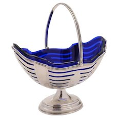 Victorian Silver Sugar Basket, Birmingham 1895