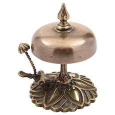Victorian Brass Counter Bell, Circa 1890