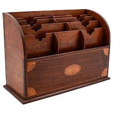 Edwardian Mahogany Document Box, Circa 1905