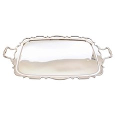 Fabulous Edwardian Large Silver Plated Tray, Circa 1905