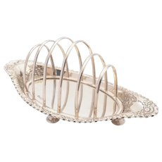 Fabulous Victorian Silver Toast rack, Sheffield 1890