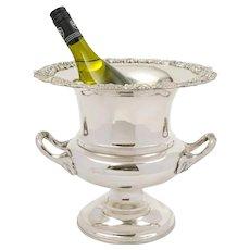 Elegant Edwardian Silver Plated Champagne/Wine Bucket - circa 1905