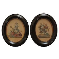 Pair of Napoleon III engravings.
