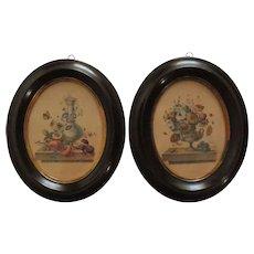 Pair of Napoleon III engravings.