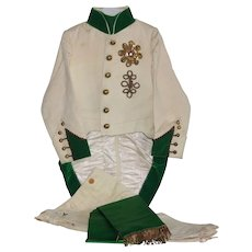 France early 20th century,rare child's theater costume : '' L'Aiglon '' uniform.