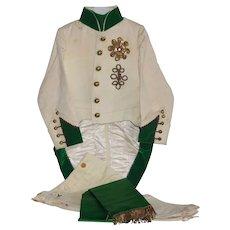 France early 20th century,rare child's theater costume : '' L'Aiglon '' uniform.