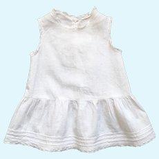 Charming French Little White Cotton Full Slip