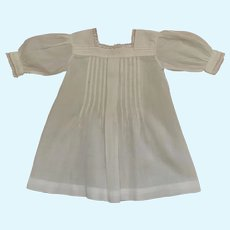 Elegant French Little Batiste Dress.Circa 1900