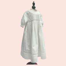 Exquisite Antique French Dress for Little Girl . Circa 1880-1910