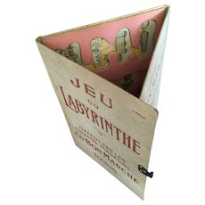 Charming French Advertising Game From ''Le Bon Marché Paris'' Circa 1880-1900.