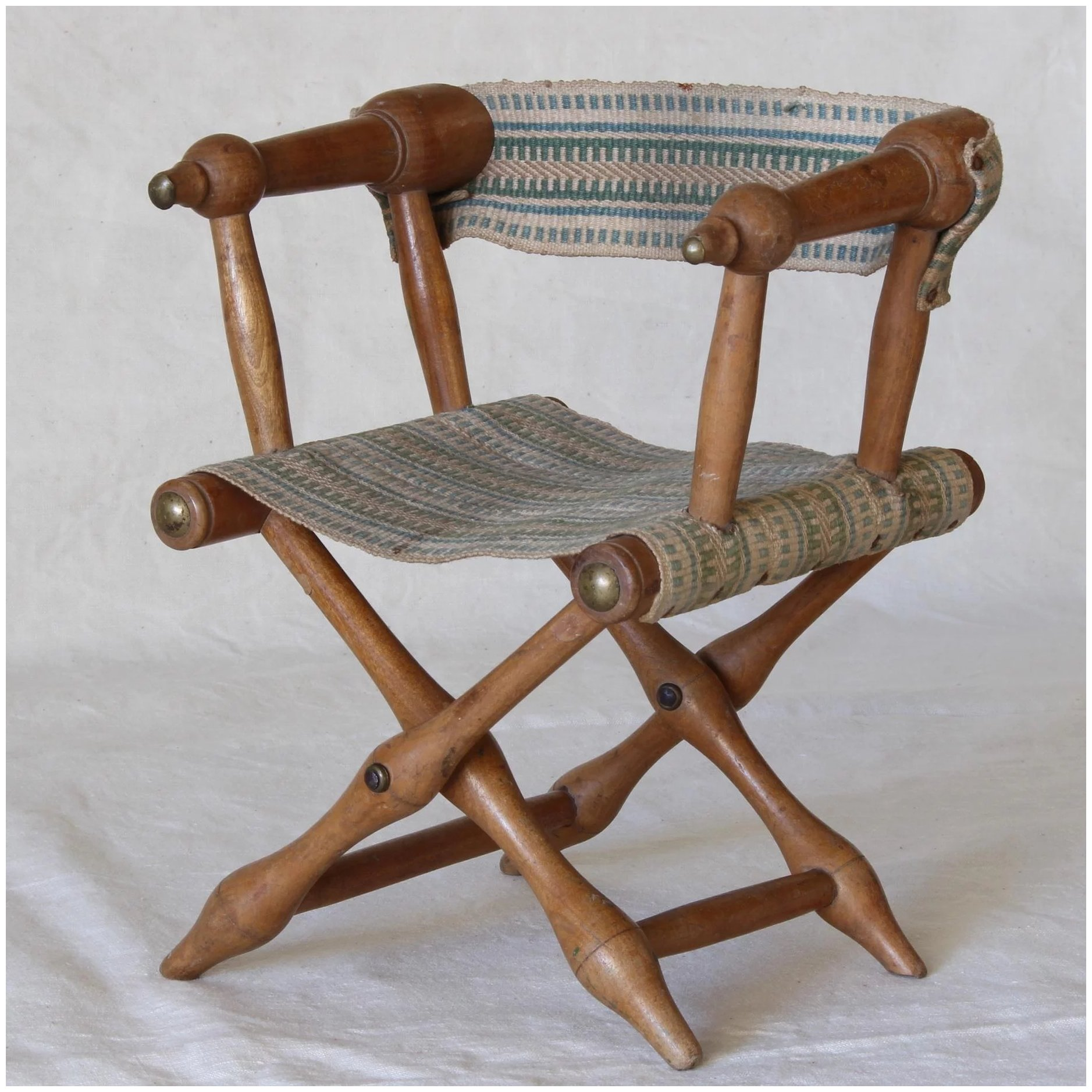 Cool Adorable French Folding Chair For Doll Circa 1900 Caraccident5 Cool Chair Designs And Ideas Caraccident5Info