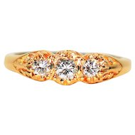 Timeless Beauty .51tcw Diamond 14kt Yellow Gold Ring