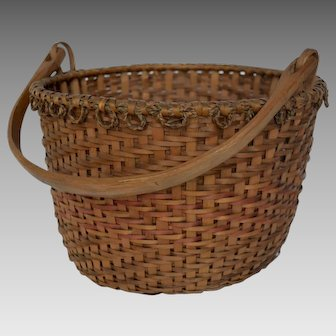 Swing Handle Splint Basket