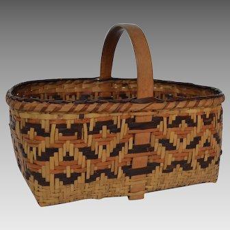 Vintage Cherokee Basket - Native American