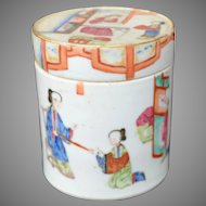 Chinese Porcelain Famille Rose Lidded Box