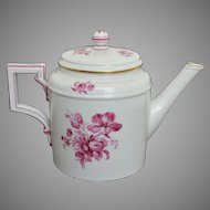 KPM Berlin Porcelain Teapot - Early 19th Century