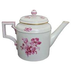 KPM Berlin Porcelain Teapot - Early 19th Century