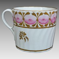 English Porcelain Coffee Can circa 1790