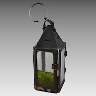 Early American Tin Candle Lantern