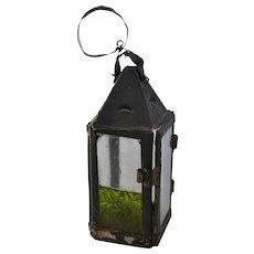 Early American Tin Candle Lantern