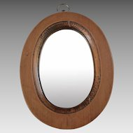 Early American Small Hanging Mirror