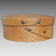 Antique 19th C. American Pantry Box in Original Finish