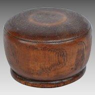 Antique English Treen Travel Goblet