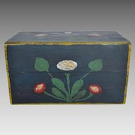 Wood Box - Original Paint - Wonderful Folk Art