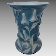Phoenix Consolidated Glass Bluebell Vase