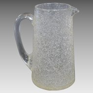 Sandwich Glass Company Overshot Pitcher - circa 1875