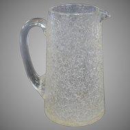 Sandwich Glass Company Overshot Pitcher - circa 1875