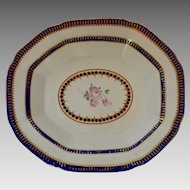 English Derby Porcelain Dish circa 1770 -82