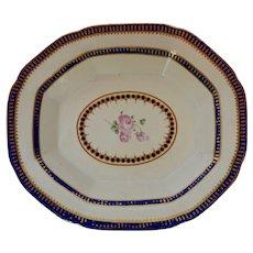 English Derby Porcelain Dish circa 1770 -82
