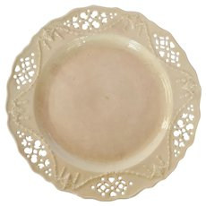 Antique Leeds Pottery Creamware Creamware Dish