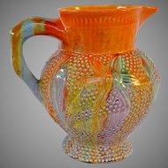 Clarice Cliff Delicia Jug circa 1930 - Spectacular Coloring