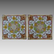 PAIR Mintons Aesthetic Movement Tiles