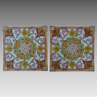 PAIR Mintons Aesthetic Movement Tiles