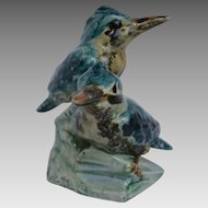 Stangl Pottery Figurine -Double Kingfisher