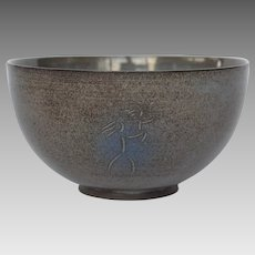 Exceptional Sheier Pottery Bowl