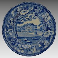 Historical Staffordshire Cup Plate circa 1830