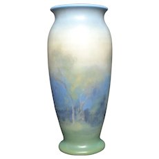 Rookwood Scenic Vellum Fred Rothenbusch Vase