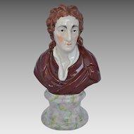 Staffordshire Figure of Lohn Locke
