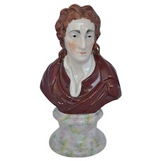 Staffordshire Figure of Lohn Locke