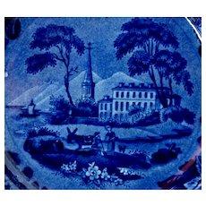 Historical Staffordshire Plate circa 1825