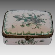 French Enamel Snuff Box