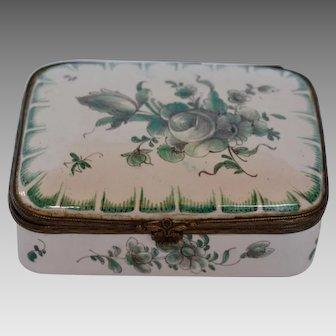 French Enamel Snuff Box