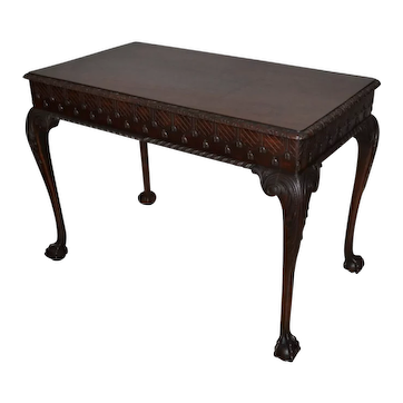 American Late 19th Century Chippendale style Library Table