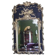 French 19th Century Louis XV Style Boiserie Mirror